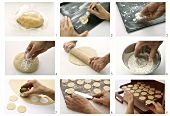 Making sweet pastry biscuits - part 2