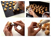 Making profiteroles