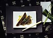 Turbot with Lemon Grass