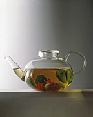 Jena glass teapot