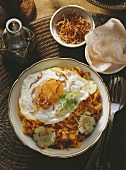 Nasi Goreng; fried Rice & fried Egg