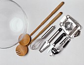 Kitchen Utensils for Salad Making