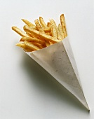 French Fries in a Paper Bag