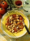 Stuffed Casserole; Meat-Bean Stew
