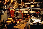 Deli and Wine Shop in Tuscany