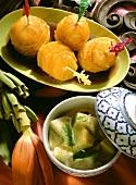 Pickled Oranges & Honeydew Melon