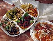 Assorted Italian Antipasti