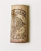 Weinkorken der Kellerei Petaluma, Clare Valley, Südaustralien