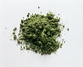 A Pile of Powdered Green Tea