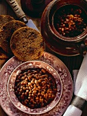 Baked Beans with Brown Bread