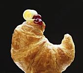 Croissant; Butter Curl & Jam