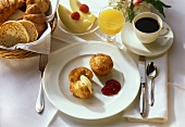 Muffins with Butter; Jam & Coffee 1