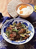 Spicy Beef with Bean Sauce