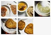 Crispy fried turkey escalope