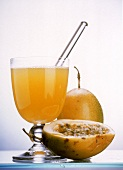 Hot Passion Fruit Juice