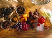 Dried Fruits; candied Blossoms; Raisins
