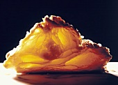 A Backlit Half of a Puff Pastry