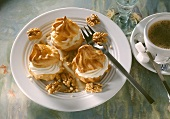 Profiteroles with mascarpone cream (Italy)