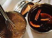 Chocolate Sauce & Punch Sauce
