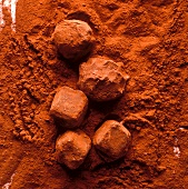 Chocolates with Cocoa Coating