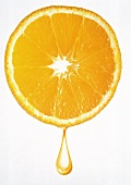 Orange Slice with Drop