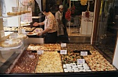 Pizza stall in Italy