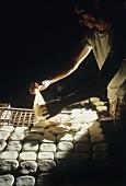 Man Making Tofu