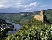 Burg Landshut and Schlossberg at Bernkastel-Kues, Mosel