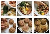 Bayerische Fleischpflanzerl zubereiten