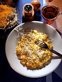 Risotto alla milanese (saffron risotto), Lombardy, Italy