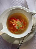 Lobster clear Soup