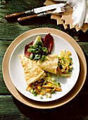 Crepes with Vegetable Stuffing