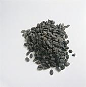Getrocknete schwarze Smoothie mit Salz & Ingwer gewürzt