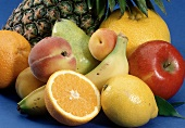 Close Up of Assorted Fruit