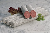 Salami with White Casing