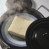 A Plate of Steaming Tofu
