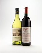 Two Australian wines from Pipers Brook and Penfolds