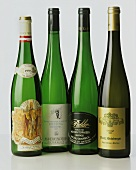 Four Rieslings from different  growers in Wachau, Austria