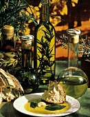 Bread with Olive Oil For Dipping