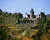 Stahleck Castle near Bacharach on west bank of Middle Rhine
