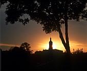 Twilight over Chateau Capburn Gasqueton, St-Estephe, Bordeaux