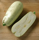 Whole and Half of a Squash
