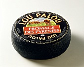 Whole Packaged Round of Lou Palou Pyrenees Cheese