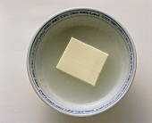 Tofu in a Bowl with Water