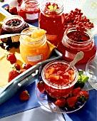 Freshly made jams