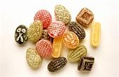 Various herb sweets