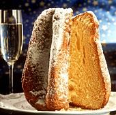 Pandoro (Christmas cake), Venice, Veneto, Italy