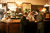 "Parisian lifestyle: a drink below ground in ""Le Coude Fou"""