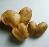 Heart-shaped Potatoes