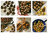 Chestnuts: baking, boiling, caramelising